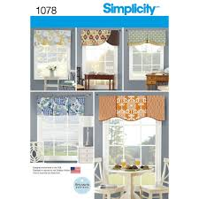 pattern for valances for 39 1 2