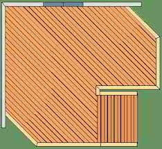 deck floor pattern choices layouts