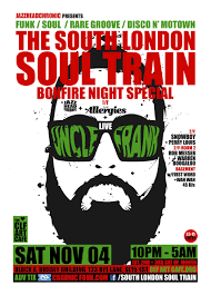ra tickets the south london soul train halloween special a 3