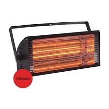 Electric Outdoor Patio Heater Outdoor Heating 1500wat Electric Infrared Halogen Outdoor Patio