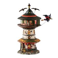 halloween village witch way home tower department 56