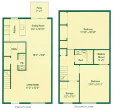 three bedroom townhouse floor plans 1 2 3 bedroom apartments for rent in scottsville ny clearview