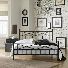 Premier Platform Bed Frame Premier Christel Metal Platform Bed Frame Black Walmart