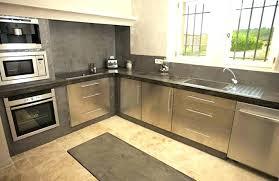 faire plan de travail cuisine plan de travail exterieur en beton plan de travail cuisine en plan