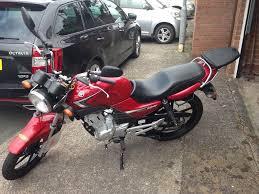 yamaha ybr 125 red learner motorbike in pentwyn cardiff gumtree