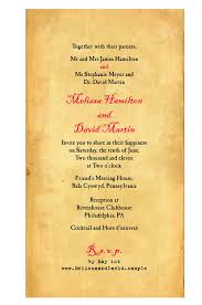 wedding invitations hamilton message in a bottle wedding invitations with mailer box and reply