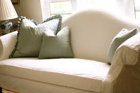slipcovers for pillow back sofas white camel back couch slipcovers by shelley
