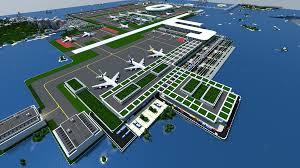 Minecraft City Maps Minecraft Airport Map