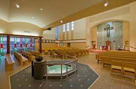 Church Interior Design Is Beige The Only Color - Modern church interior design