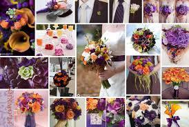 purple and orange wedding ideas plum purple and tangerine orange stephanieteagueeventsblog