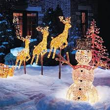 christmas outdoor decorations outdoor christmas decorations christmas airblown inflatables