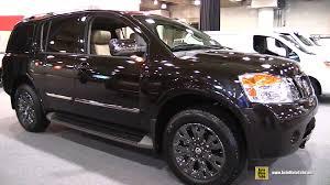 2017 nissan armada car and driver 2015 nissan armada platinum reserve exterior and interior