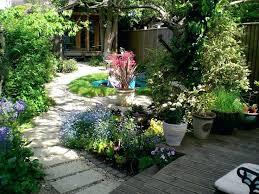 New Garden Ideas Narrow Yard Landscape Design Ideas Superb Garden Ideas