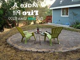 Cheap Firepit Stylish We Made A Pit Our Cone Zone Cheap Firepit Pit