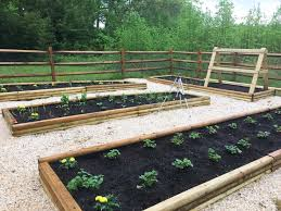 Build Vegetable Garden Fence by Garden Build Your Own Raised Bed Fruit And Vegetable Garden
