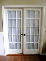 Side Window Curtains Curtains French Door Curtain Panels Double Rod Pocket Curtains