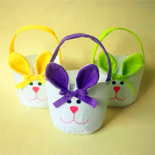 easter bunny candy 3pcs easter bunny candy bags rabbit bags easter baskets for kids