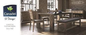 Dining Room Tables Chicago Canadel Custom Dining Furniture At Darvin Furniture Orland Park