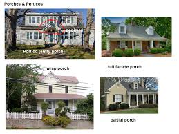 houses with porches looking around some common house terms mcmansion hell