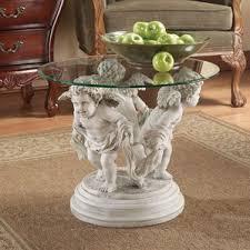 Coffee Table Pedestal Pedestal Round Coffee Tables You U0027ll Love Wayfair