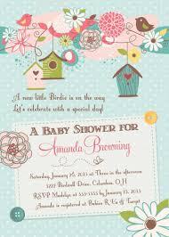 bird baby shower invitations u2013 frenchkitten net