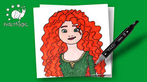 disney princess coloring pages drawing coloring merida