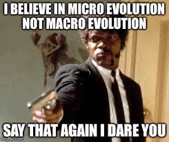 Macro Meme - say that again i dare you meme imgflip