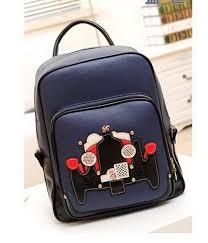 Tas Dc Asli bj4428 blue butik fashion import murah supplier baju dan