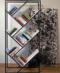 Free Standing Bookshelves Furnitures Awesome Black Modern Free Standing Bookshelves With
