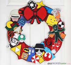 diy geek decor ultimate fandom holiday wreath our nerd home