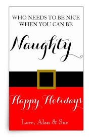 Naughty Decorations Aliexpress Com Buy Naughty Custom Holiday Christmas Wine Labels