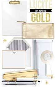 Lucite Office Desk Kate Spade Strike Gold File Organizer Office Space Pinterest