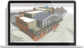 Home Design Cad Software Free by Architectural Design Software Skp File Sketchup