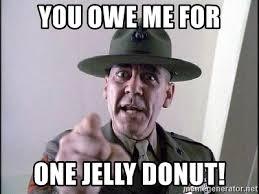 You Jelly Meme - full metal jacket jelly doughnut meme mne vse pohuj