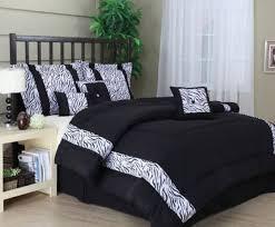 Zebra Bedroom Set Nice Black And White Bedroom Set On Modern Black And White