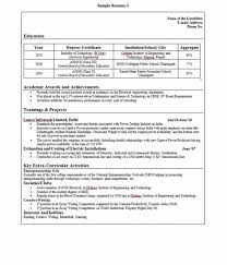 resume for college admission interviews sle resume format for freshers