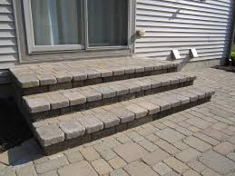 Building A Raised Patio Multi Level Paver Patio Is Reconstructed To One Level For Added