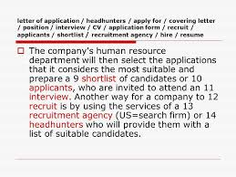 How To Shortlist Resumes Recruitment U2026the Secret Of Good Business Is Good People Who