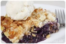 blueberry dump cake cook diary