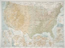 United States Map Com by 1923 United States Of America Map Historical Maps