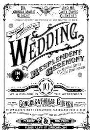 Playbill Wedding Programs Invitation Lorinda And Gary U0027s Wedding