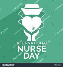 illustration nurse day nurse cap on stock vector 408092002