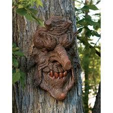 spirit halloween columbia sc amazon com design toscano poison oak greenman tree sculpture