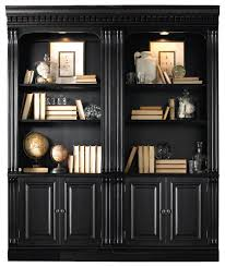 black bookshelf with cabinet 28 creative black bookcases with doors yvotube inside black bookcase