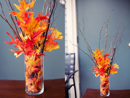 Homemade Fall Decor - ways to make wonderful fall decor with fallen leaves