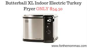 butterball xl butterball xl indoor electric turkey fryer only 54 50 prime deal