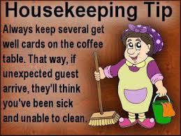 Housekeeping Meme - housekeeping tip jpg