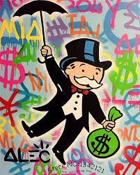 alec monopoly wall street art canvas imprimir pop art gicl eacute alec monopoly wall street art canvas imprimir pop
