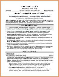 Cyber Security Analyst Resume Information Security Resume Download Information Security Resume