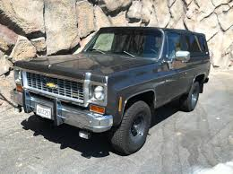 hemmings find of the day u2013 1974 chevrolet blazer hemmings daily